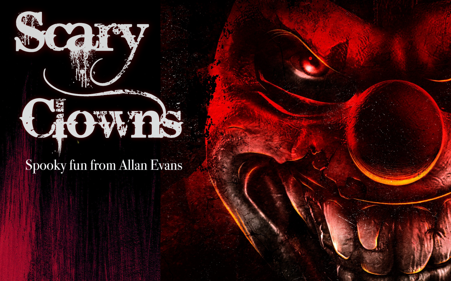 Spooky fun written by Allan Evans